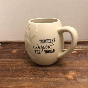 Teachers Inspire The World Mug